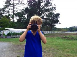 Farm Photographer Michael, age 6