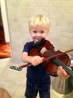 My littlest music and physical therapist-in-training. He eases my pain and makes my #soulshine.