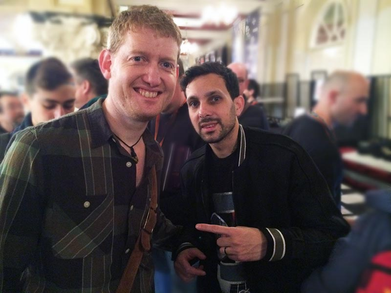 Damian Surr (Gingermagic) and Dynamo