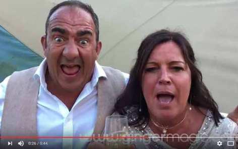 Jim and Gaye - Happy Customers - Damian Surr - Gingermagic