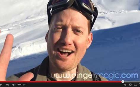 GingermagicTV21 - Magic in the Mountains - Damian Surr