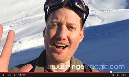 Magic in the Mountains - GingermagicTV - Damian Surr