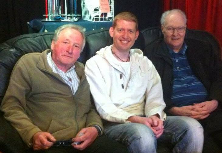 Roger Curzon, Damian Surr and Les Johnson