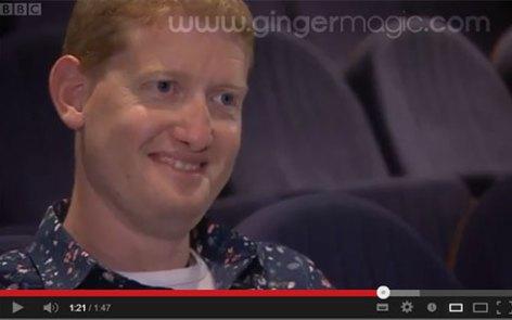 TV Magician, Damian Surr - BBC - GingermagicTV