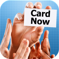 iPhone magic apps - Card Now - Business Card Magic