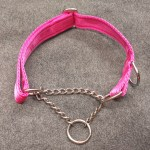 Cerise Martingale Collar