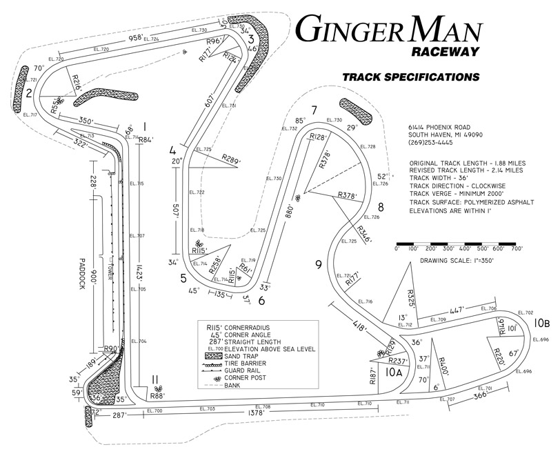 MORE track days at Gingerman, Grattan, Waterford Hills