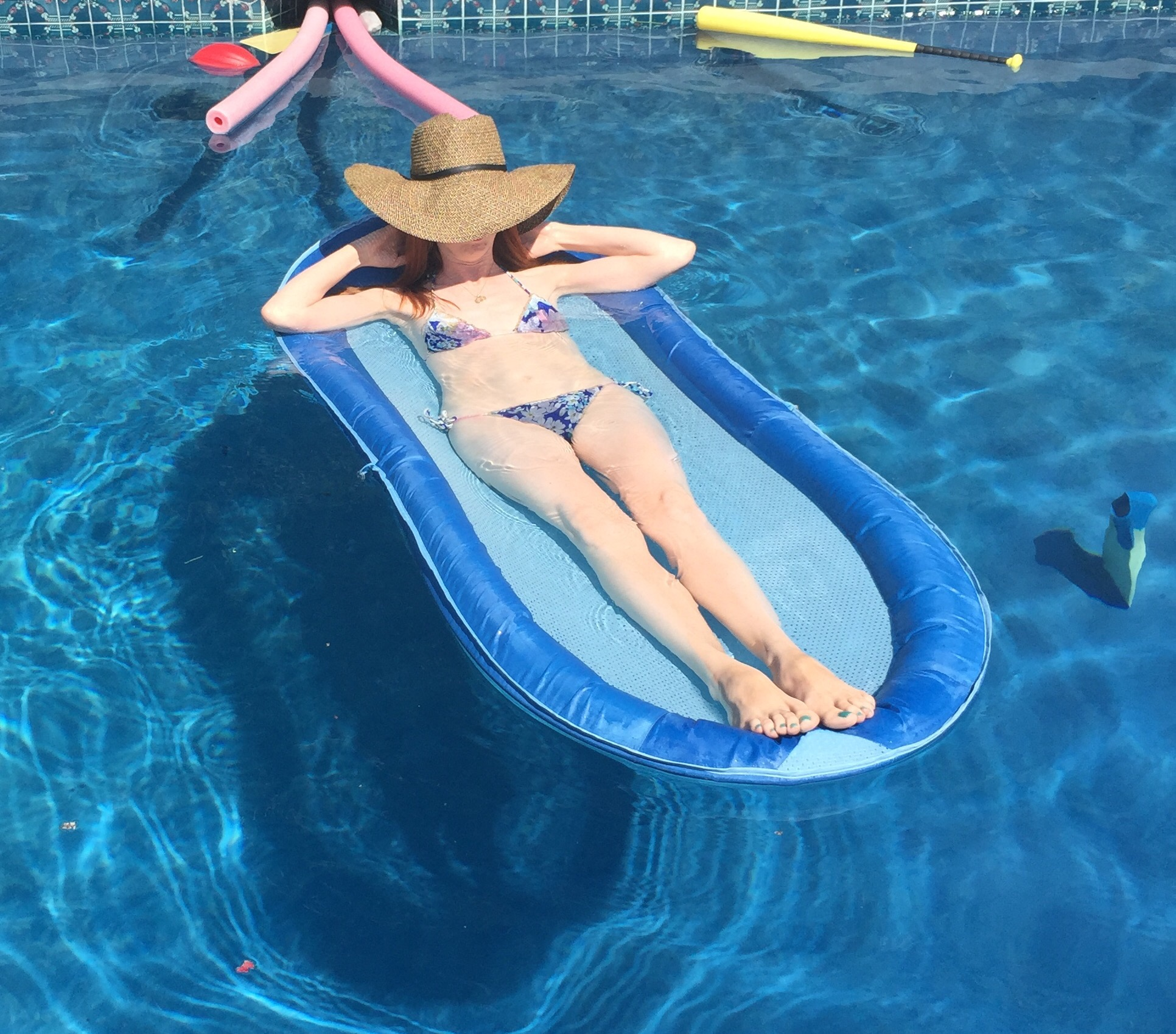 Pool Floppy Hat Summer Hamptons