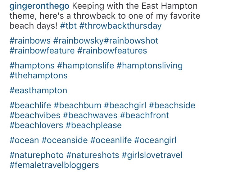 Instagram Hashtags Caption