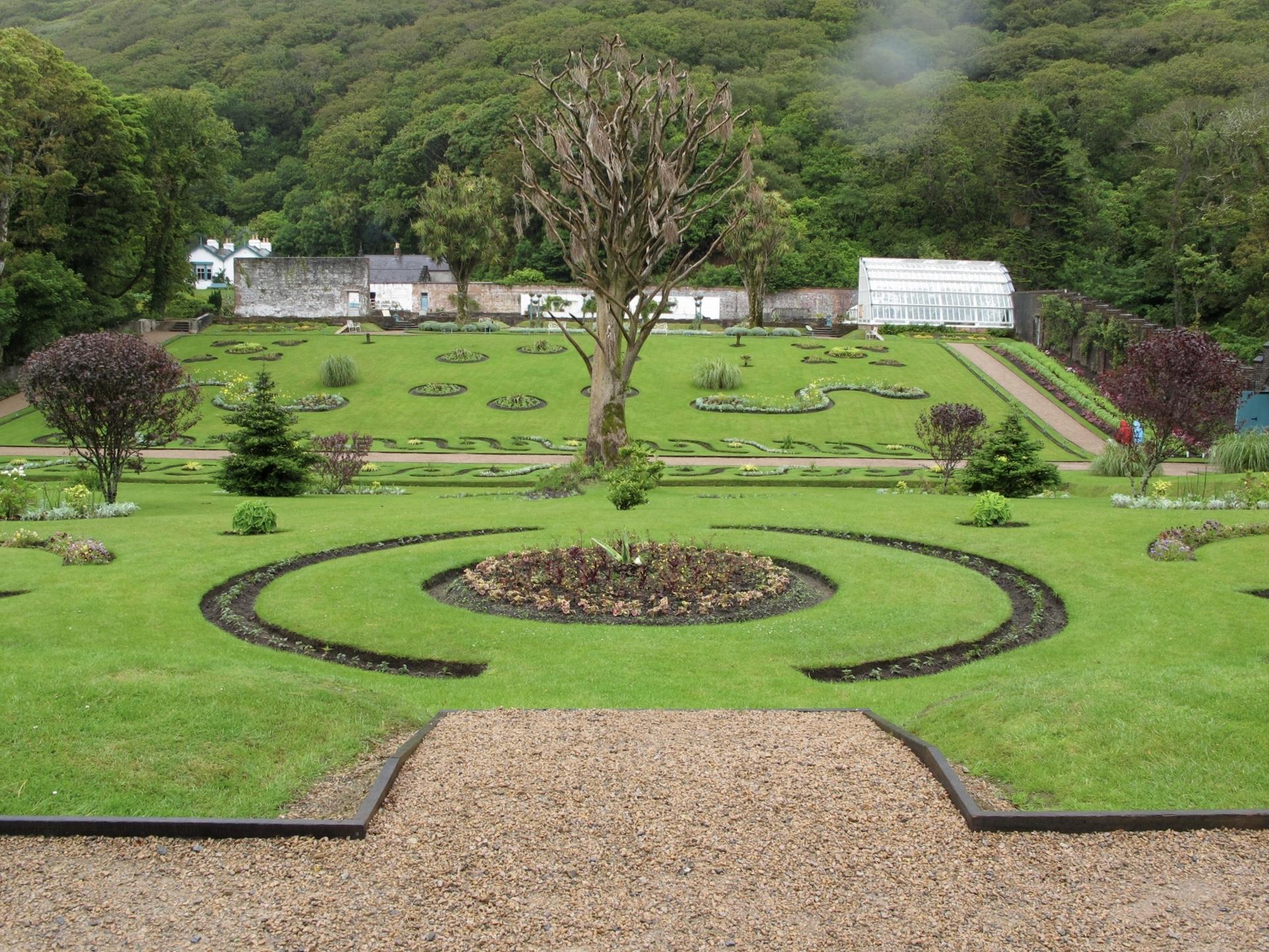 garden victorian kylemore