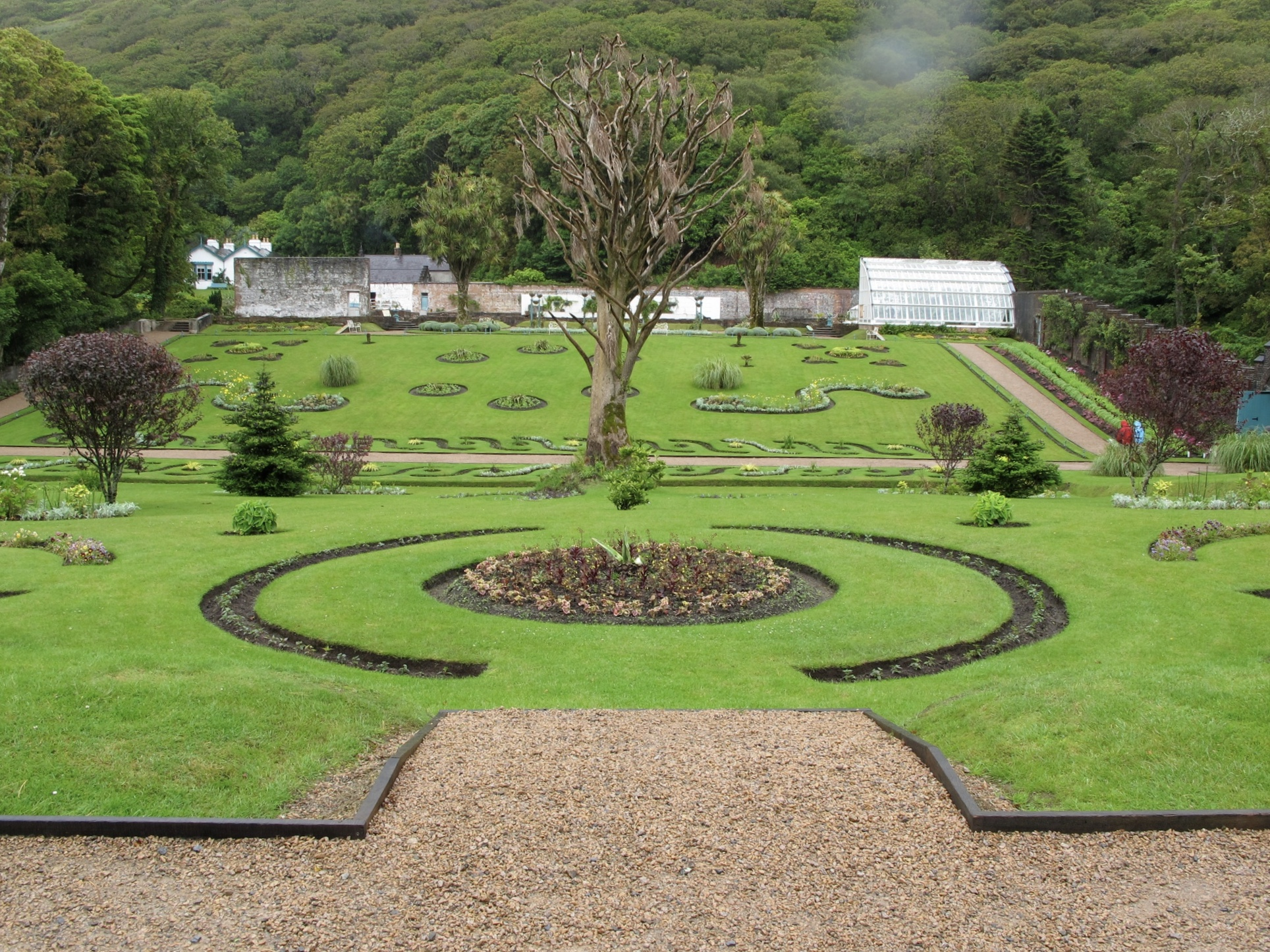 garden victorian kylemore