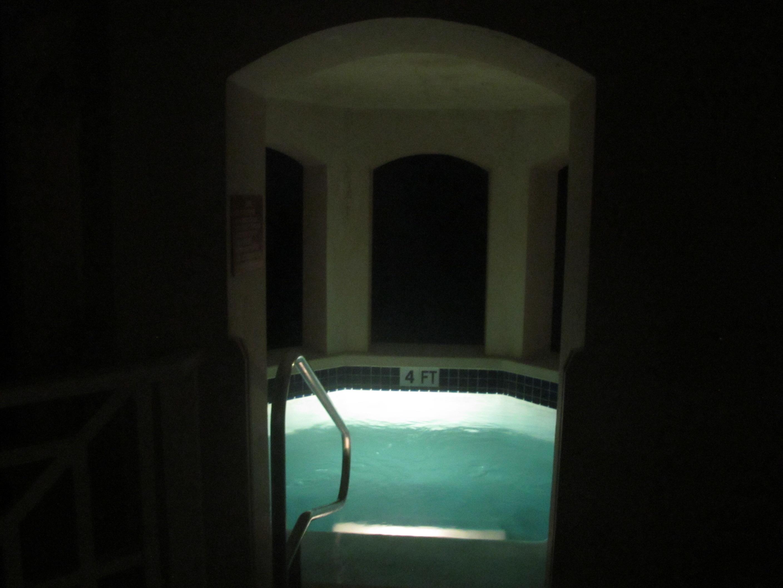 night plunge pool