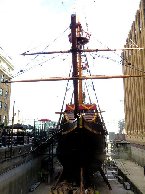 The Golden Hind, Southwark London