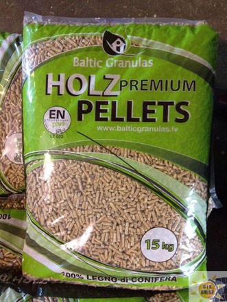 Holz Premium Pellet puro abete