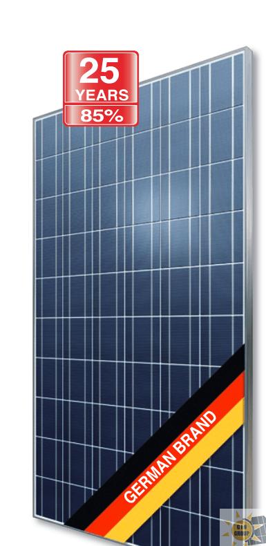 AXIpower 60-cell polycristalline solar module 260 -280 Wp