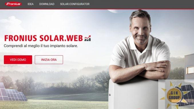 webshop Fronius per estendere la garanzia degli inverter