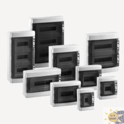 Centralini stagni porta trasparente IP65