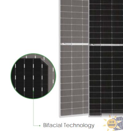 JINKO SOLAR Tiger Pro 72HC-BDVP 525-545 Watt Bifacial Dual Glass