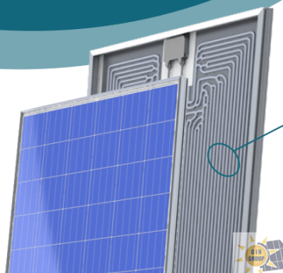 SUNERG pannelli solari ibridi TWIN+ poly