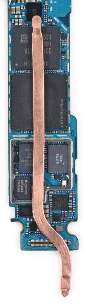 Galaxy S7 - Système de refroidissement