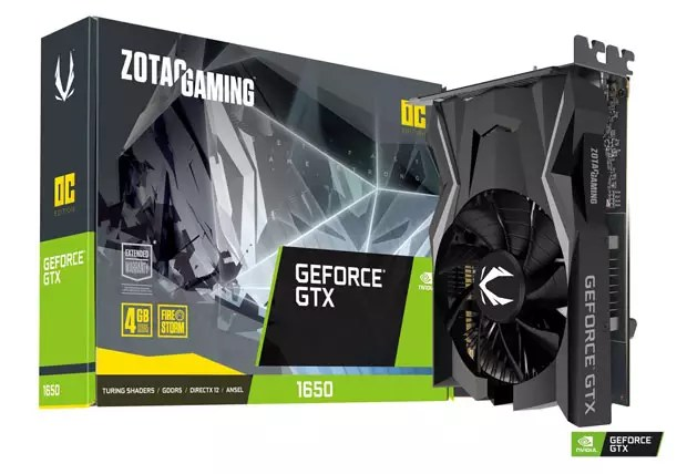 GeForce GTX 1650 OC Edition de Zotac