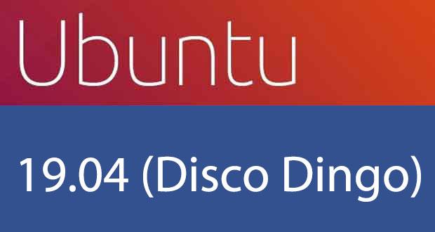Distribution Linux Ubuntu 19.04 (Disco Dingo) de Canonical