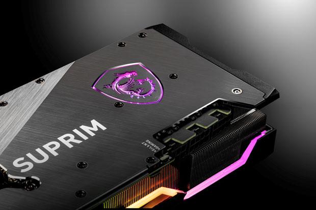 GeForce RTX 30 series SUPRIM X de MSI