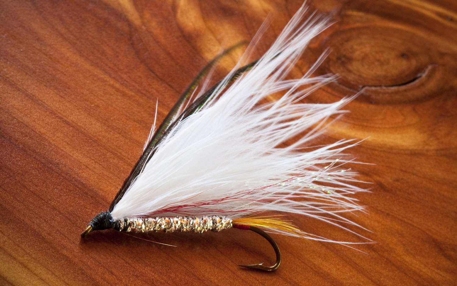 Dan Flynn's Marabou Streamer - Gink and Gasoline
