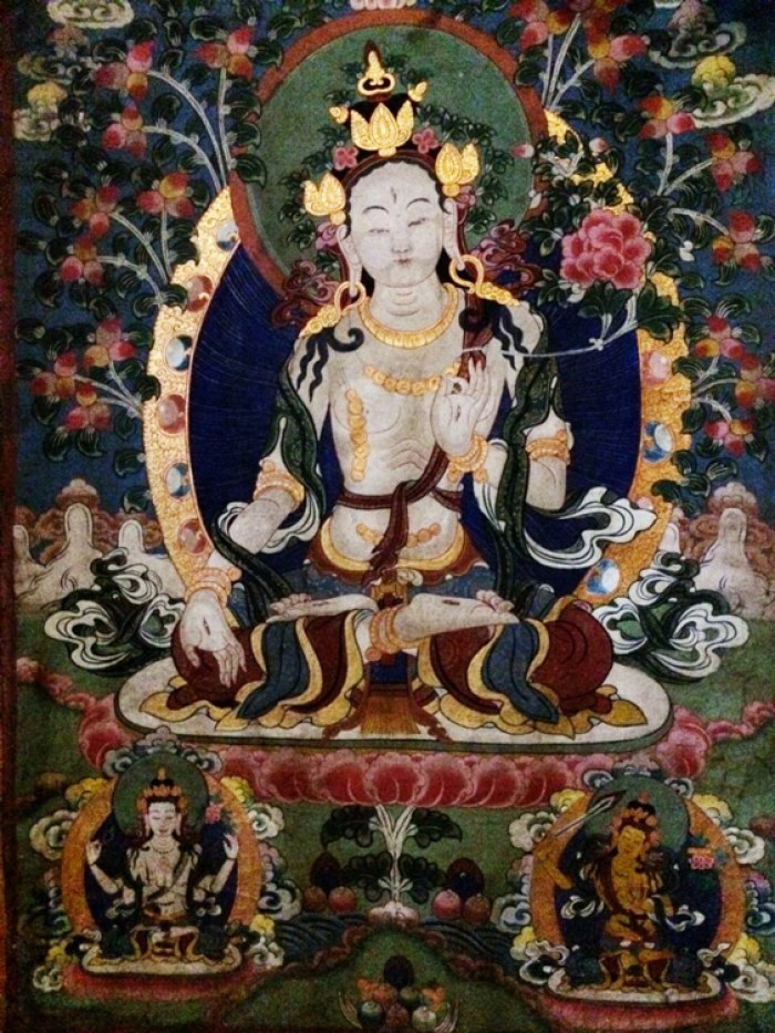Thanka from the Barclay's collection - Pear Orchard Temple, Shaxi Yunnan China
