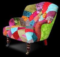 Patchwork nursing chair from Ginny Avison Designs Ltd
