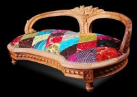 Luxury dog bed from Ginny Avison Designs Ltd