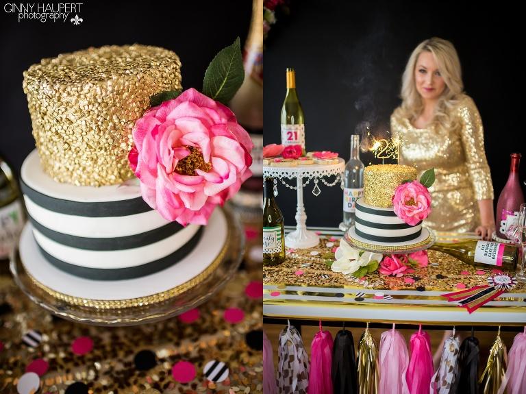 Denver Birthday Photographer Kate Spade Theme