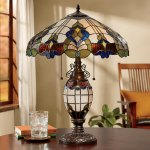 Wicklow Stained Glass Table Lamp Ginny S
