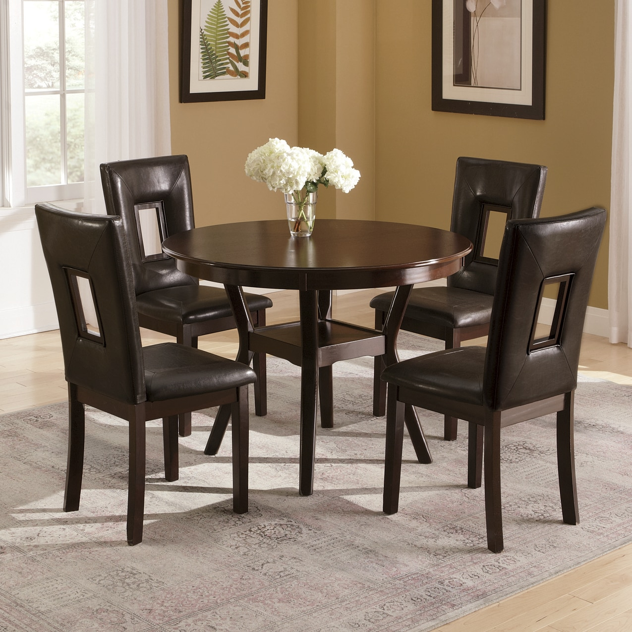 chairs dining table aluminum folding chair sets barstools ginny s manchester round and set of 2 rectangle cutout