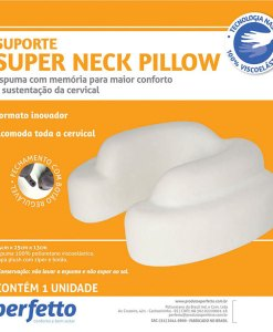 Super Neck Pillow cor azul marinho Perfetto