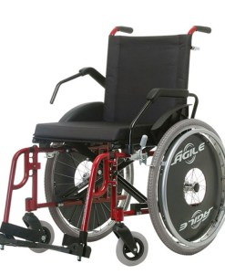 Cadeira de rodas Ágile Fat - Ortopedia Jaguaribe