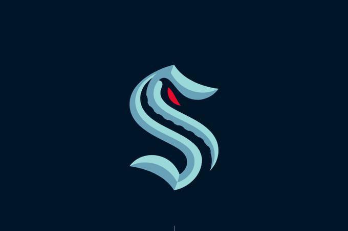 The Seattle Kraken logo