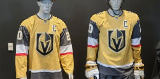 The Vegas Golden Knights new third jerseys