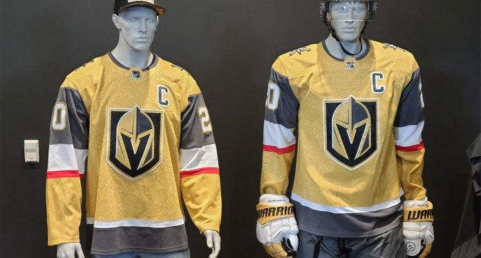 The Vegas Golden Knights new third jerseys