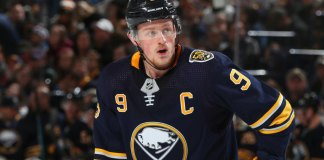 Buffalo Sabres' captain Jack Eichel is frustrated about missing playoffs