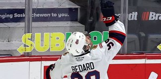 Connor Bedard pays tribute to late grandfather