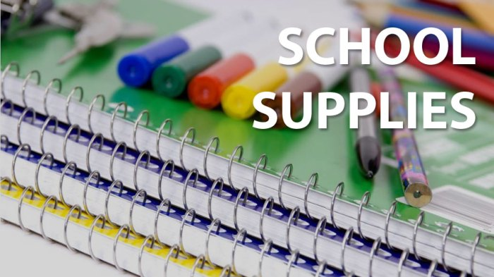 Freshmen Supply List 2017/18