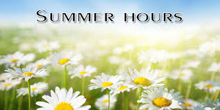High School Central Office Summer Hours