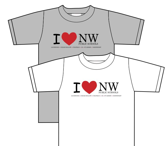 I Love NWPS Shirts for Sale