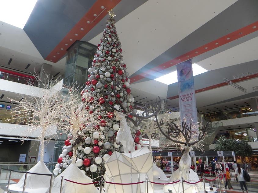 ダバオのクリスマス風景・モール1