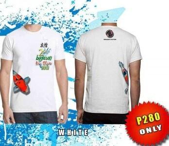 koi fish show buglasan tshirt white color