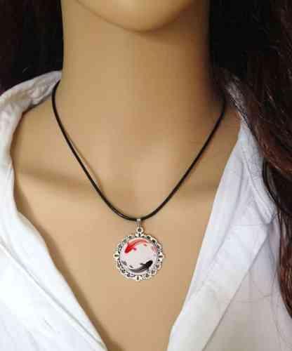 koi fish yin yang koi fish pendant