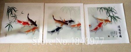 koi fish paintings feng shui 1