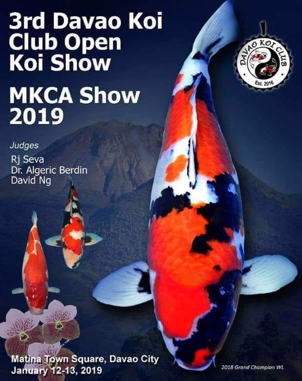 3rd Davao Koi Club Open Koi Show! 2019