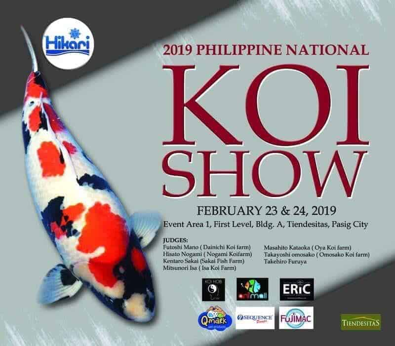 2019 Philippine National Koi Show